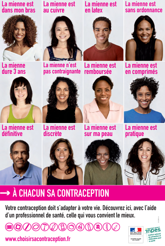A chacun sa contraception - Affiche